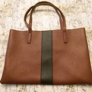 Vince Camuto Vegan Leather Luck Tote in Brown